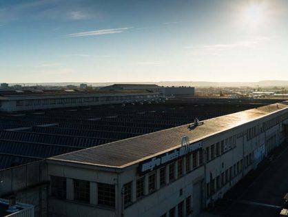 Photos aériennes du site industriel Mefro Wheels