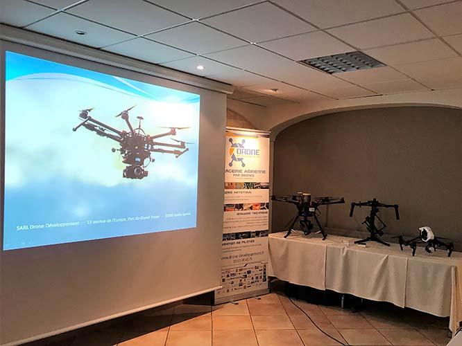 Drone Développement est invité au Lions Club