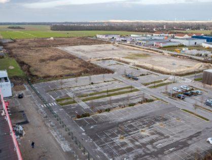 Photos aériennes pour extention de zone commerciale