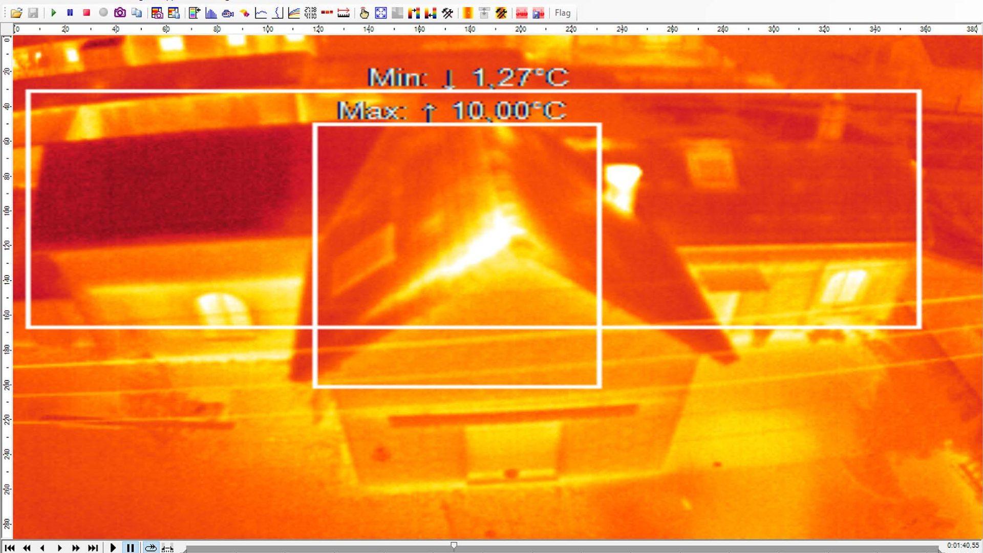 Thermographie sur bâtiments / Isolation / Déperditions