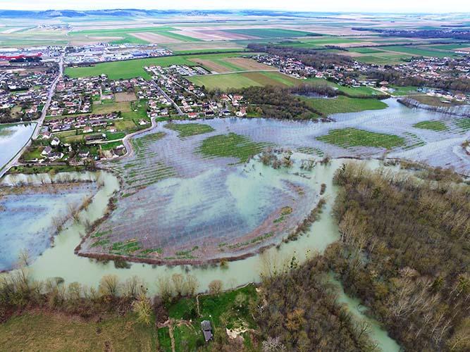Crues de la Seine et de l'Aube