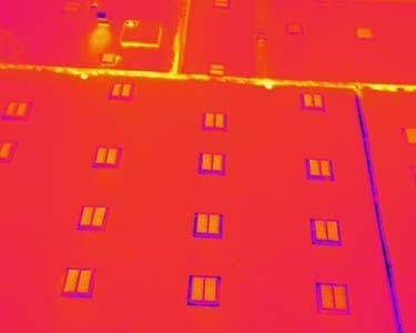 Thermographie aérienne sur 30.000 m² de bâtiments industriels