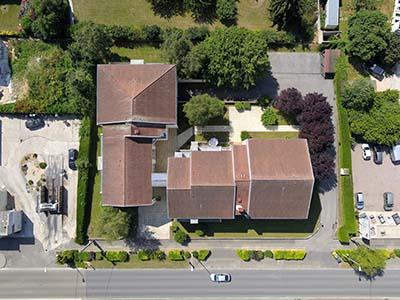 Photographies aériennes pour un cabinet d'architecture