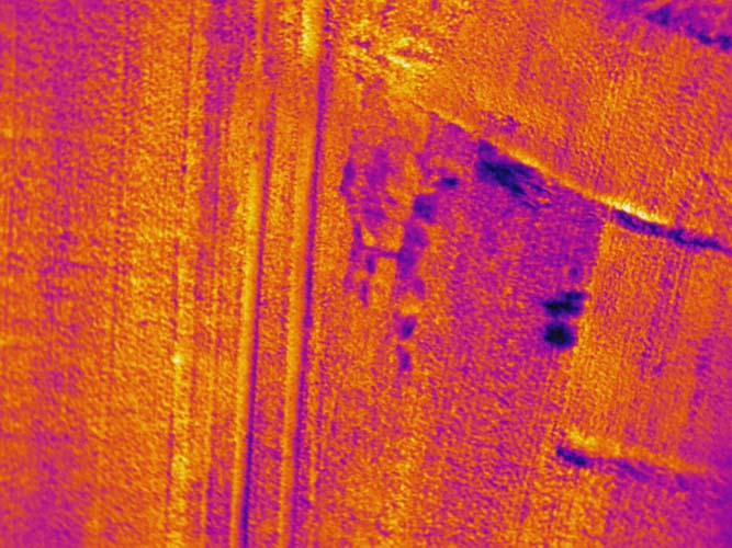 Recherche infrarouge de cavités sousterraines