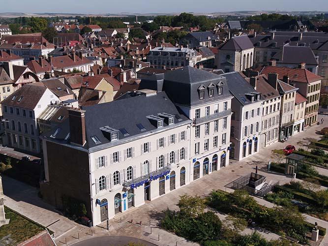 Images sur la BPLC de Troyes pour une Production de Metz