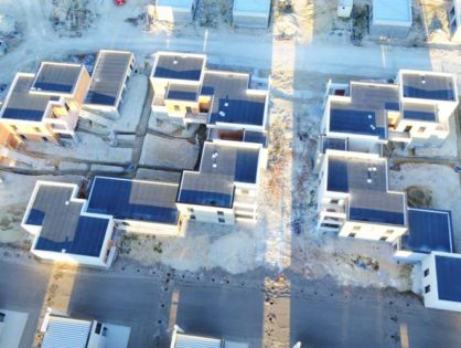 360 aérien sur des chantiers de construction