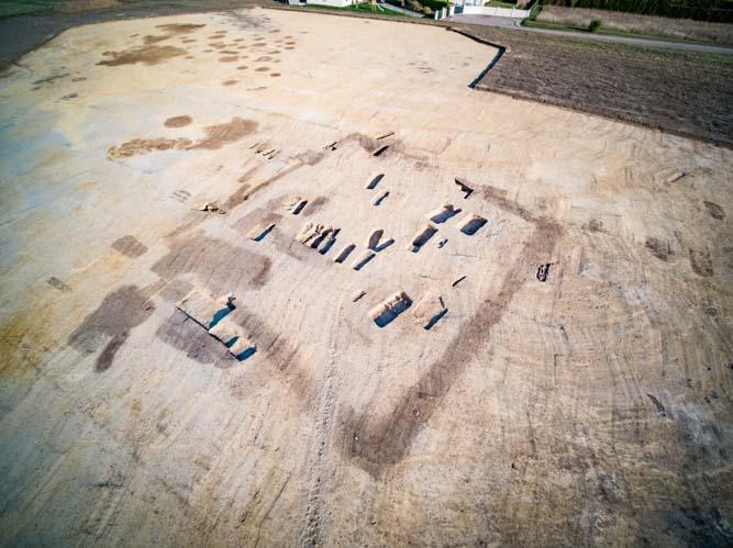 Archéologie aérienne par drone