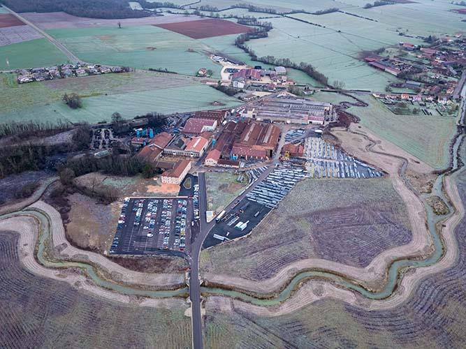 Haute-Marne, photos d'un site industriel