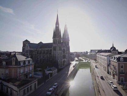 Tournage à Châlons-en-Champagne
