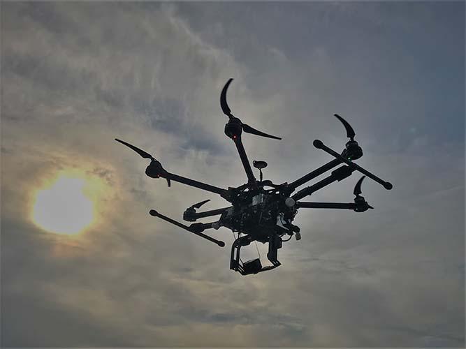 Infrarouge et drone, le couplé gagnant