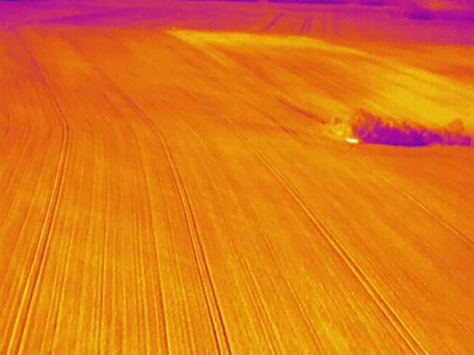 Suite des recherches de cavités souterraines par infrarouge