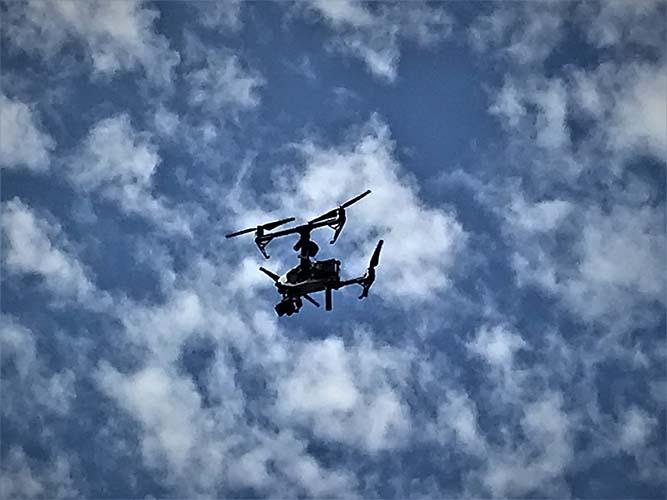 Enchainement des missions pour l'implantation d'antennes 4G