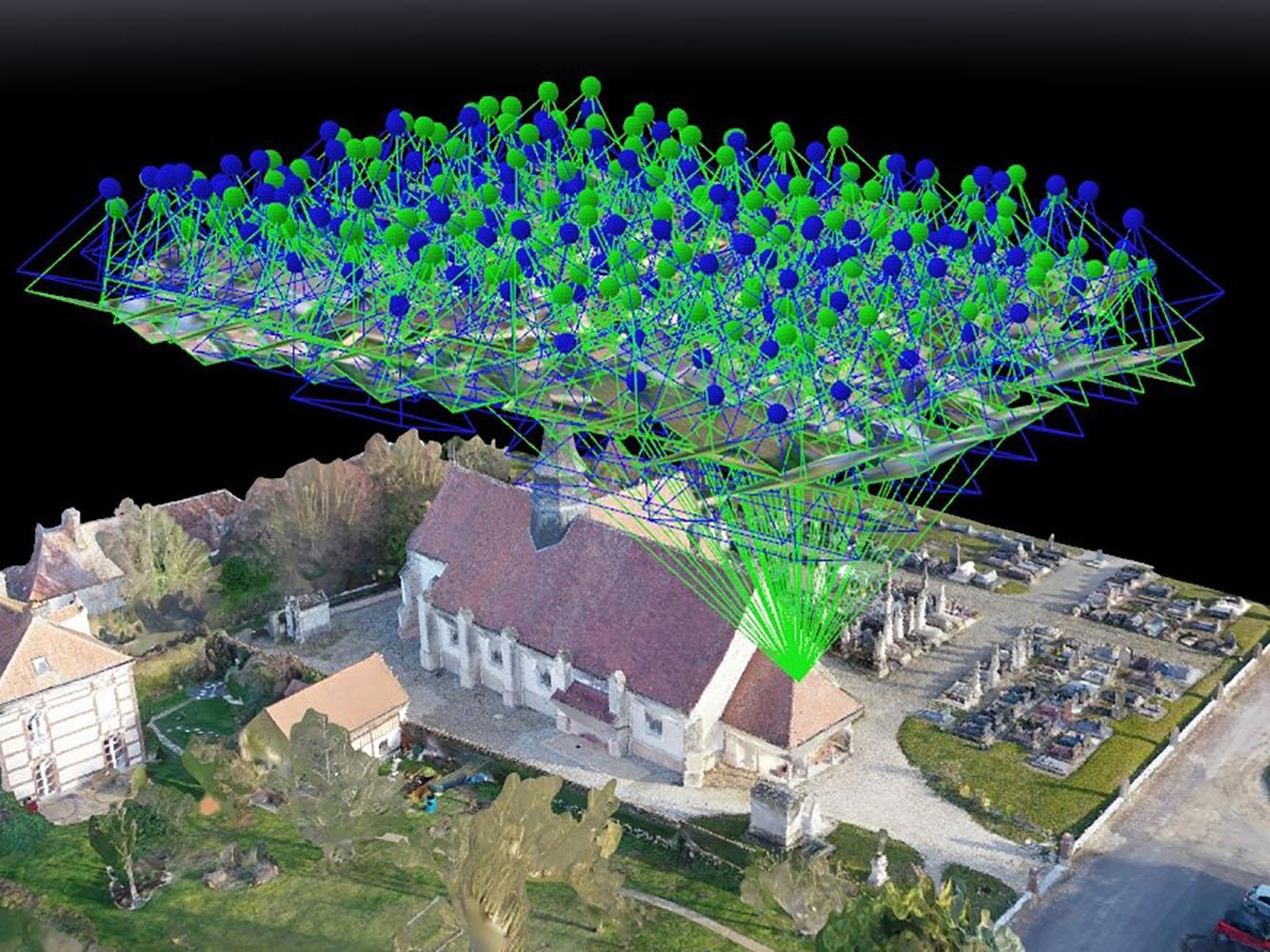 Photogrammétrie complète avec pilotage de drones / Formation n°6
