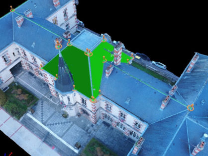 Photogrammétrie sur la Mairie de Sainte Savine - Suite