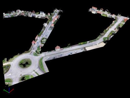 Photogrammétrie de rues à St André les Vergers