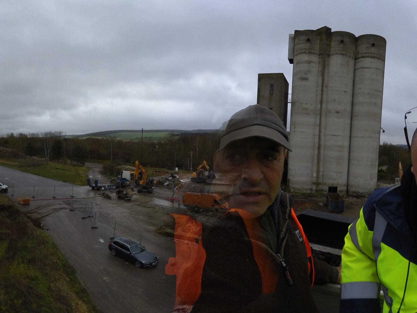 Installation d'un timelaps longue durée sur un chantier de démolition