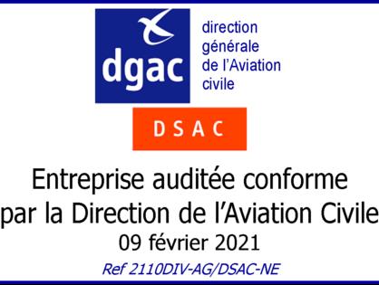 Audit conforme de la DGAC